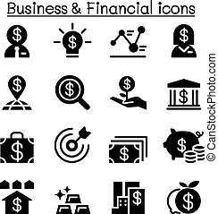 Business & Financial icon set