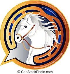 Jockey Horse Icon