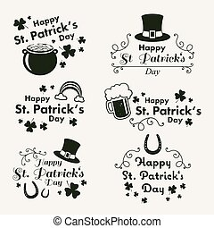 Vector St. Patrick's Day Design Elements
