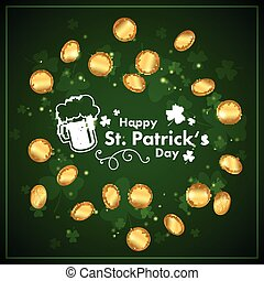 Vector St. Patrick's Day Design - Vector Illustration of a...