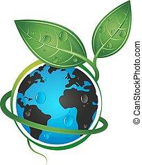 Earth green eco concept