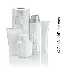 cosmetical composition of white objects