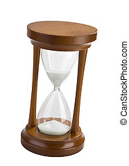 hourglass isolated