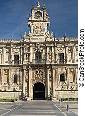 Leon (Spain): San Marcos palace