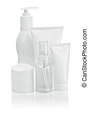 cosmetical tubes and pads deodorant