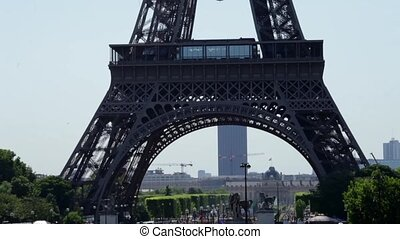 FRANCE, PARIS: View of the famous travel and tourism sight...