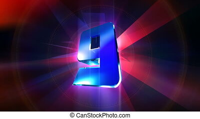 Transform Countdown GO! - Transformer countdown animation.