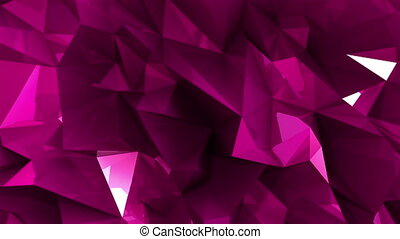 Loopable crystal background - High quality crystal...