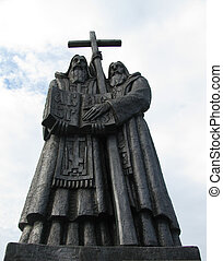 monument in Vladivostok - Cyril and Methodius monument in...