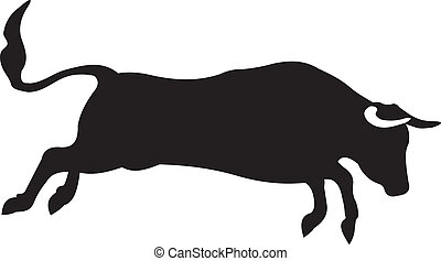 Bull vector. To see similar, please VISIT MY PORTFOLIO