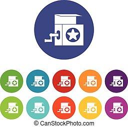 Music box set icons