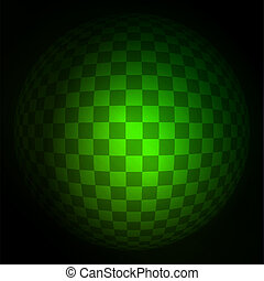 Squared vector background. EPS 10 vector file included