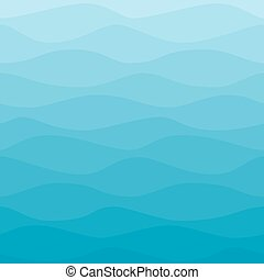 Gradual wavy blue winter background