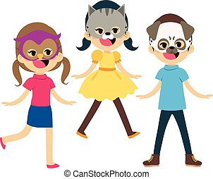Children Animal Masks