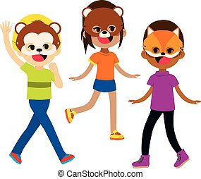Animal Masks Kids