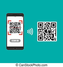 Scan QR code to Mobile Phone