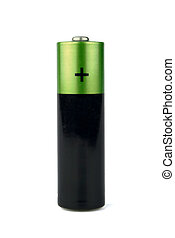 Battery - The battery on a white background it is isolated