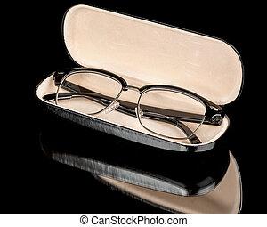 Just a simple pair of bifocal eye glasses - One pair of eye...