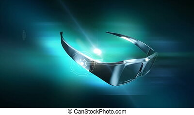 """3D Glasses animation. - """"Put on your 3D glasses"""". Great spot..."""