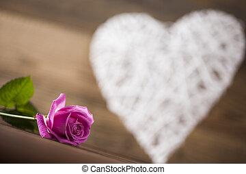 Heart background, Happy Valentine's Day - Valentines day...