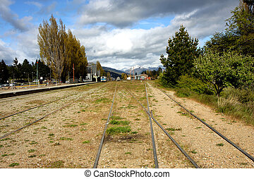 Bariloche train rails