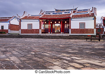 Youth Center, Kenting, Taiwan - Traditional chinese building...