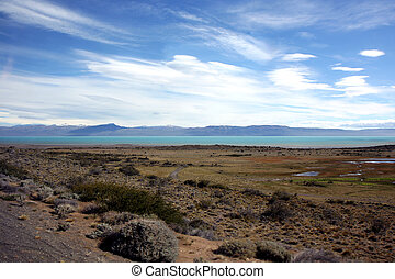 El Calafate view - View next to El Calafate on the way to...