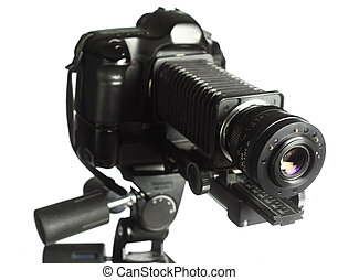 professional micro-photography rig - A professional camera...