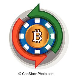 Casino-Coin to Exchange Bitcoin. AI 8 supported.