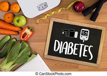 a diabetes test, health Medical Concept , Obesity , blood...