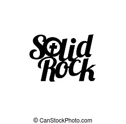 Solid Rock Concept Design. AI 10  supported.