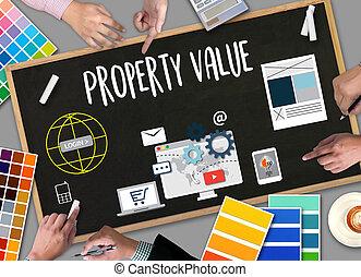 Property Value , Businessman Property Value , Real estate...