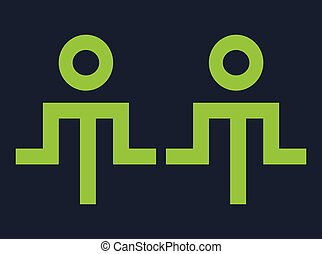 Yoga Therapy Icon Design, AI 8 supported.