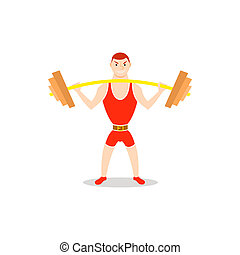 Overhead Squat Drawing Squat Clip Art and Sto...