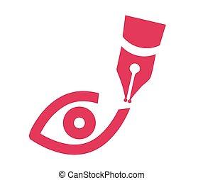 Vision Theme Logo Concept