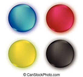 CMYK Color Set