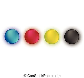CMYK Round Color Set