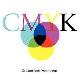 CMYK Color Concept Design