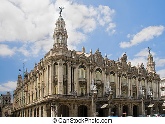 Gran Teatro of La Havana, Cuba - Gran Teatro Great Theater...