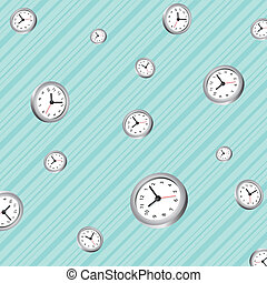 pattern background of clocks