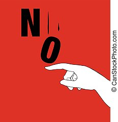 Protest Poster for No. AI 10 supported.