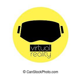 3D VR Logo and Eyewear - 3D Virtual Reality Logo and Eyewear...