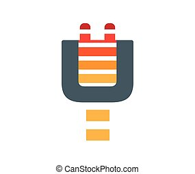 Electric Plug Icon Design