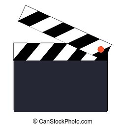 Clapperboard Icon Design