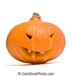 Halloween Pumpkin Head - Evil looking Halloween Pumpkin Head...