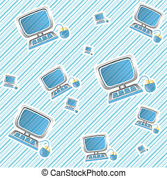 pattern background of computer device
