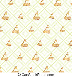pattern background of indian musical instruments