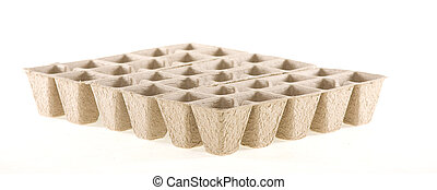 Eco-friendly Composted Cow Manure Fiber Pots used for...