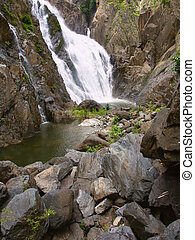 Barron Gorge National Park - View of Barron Falls at Barron...
