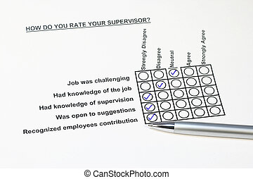 How do you rate your supervisor